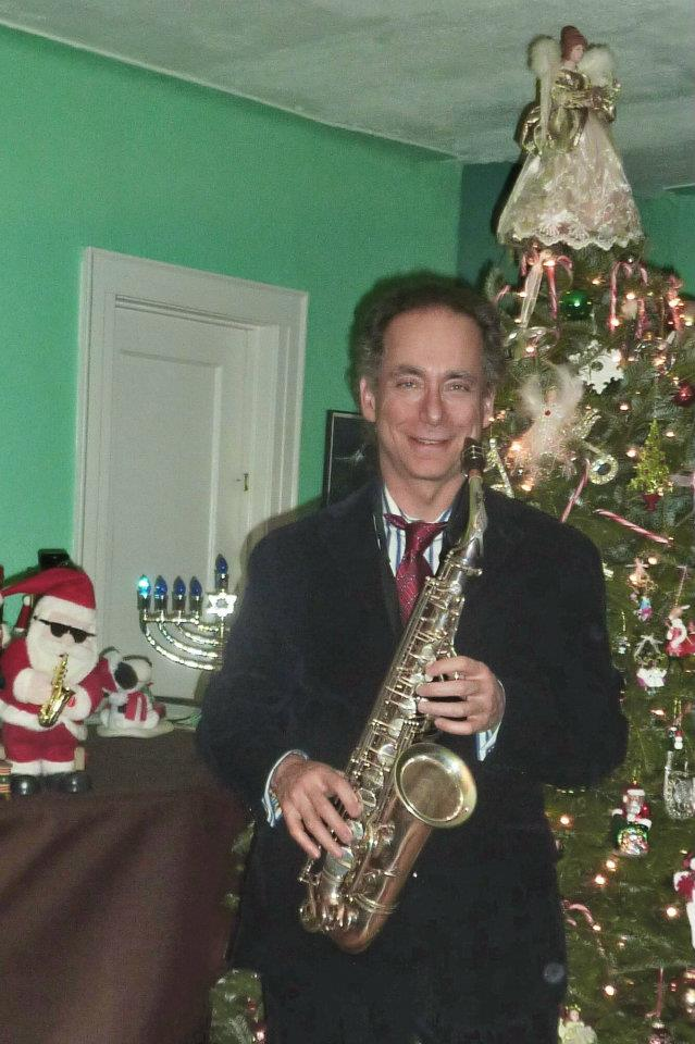 Bill Sax And Christmas Tree