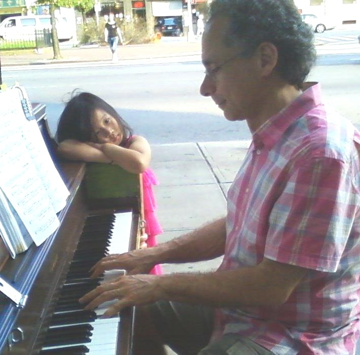 Pop Up Pianos Flushing Vivian And Bill